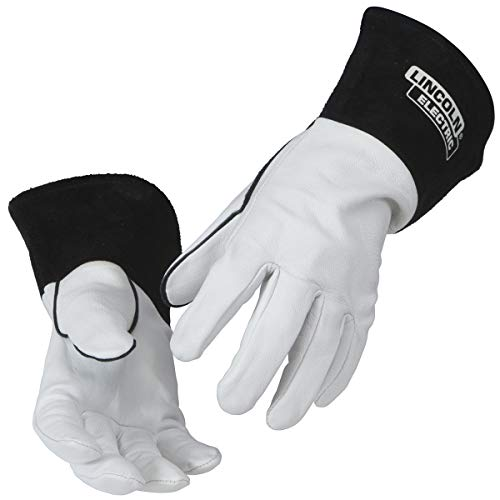 Lincoln Electric Grain Leather TIG Welding Gloves | High Dexterity | Large | K2981-L