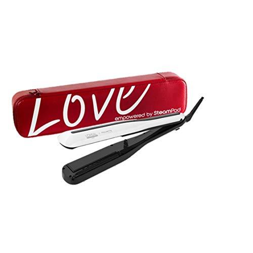 L'Oréal Professionnel Paris SteamPod 3.0 Piastra professionale a vapore per capelli con portapiastra esclusivo versione LOVE | Per styling liscio e onde morbide | Edizione Limitata