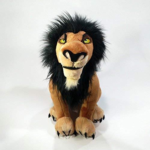 Juguetes blandos El Lion King Simba Scar Peluche Lijo suave Lion Scar Muñeca para niños Cumpleaños DSB