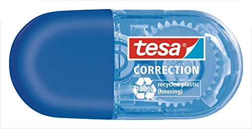Tesa Mini Roller Correction ecoLogo, blau