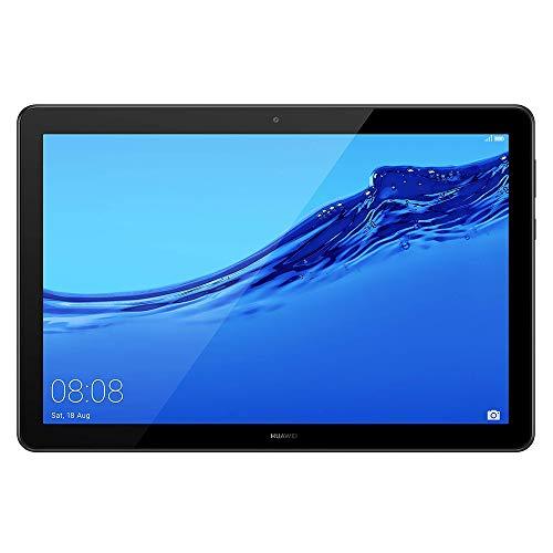 """HUAWEI MediaPad T5 Wi-Fi Tablette Tactile 10.1"""" (32Go, 2Go de RAM, Android 8.0, Bluetooth, 2 haut-parleurs), Noir"""
