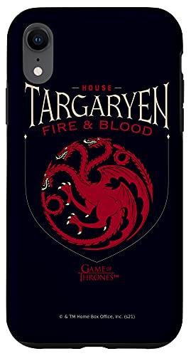 iPhone XR Game of Thrones House Targaryen Sigil Case