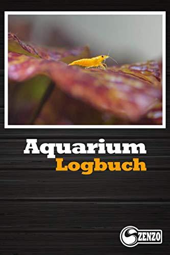 Aquarium Logbuch: Aquarium Tagebuch - Perfekt zum festhalten relevanter Wasserwerte wie z.b Temperatur, PH, GH, KH, NO3 etc.