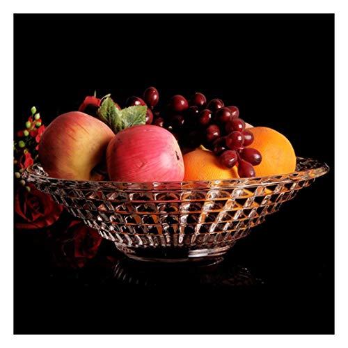 TongN Gran Estilo Europeo de Cristal de la Sala Frutero Moderno Caramelo bocado del Plato Placa Seca Placa de la Fruta