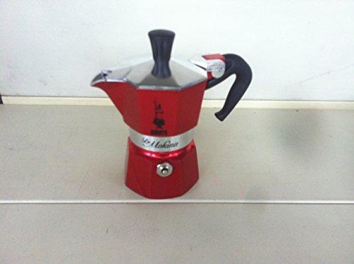 CAFFETTIERA MOKINA 1/2 TZ. RED EMOT