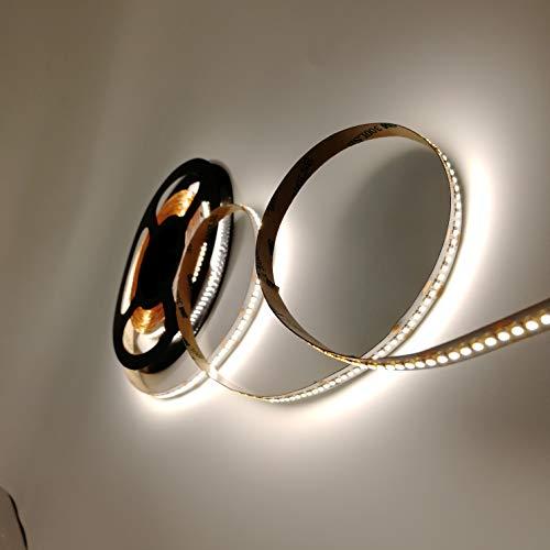 Rouleau de 5 mètres de ruban 1500 LED 2216 SMD lumière unicolore au choix 5 m 24 V CC avec adhésif double face 3M CRI 95+ mod. Premium (4000 K lumière naturelle (blanc neutre)
