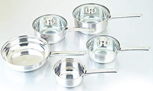 Highlands COOKWARE + Steamer Set Stainless Steel Saucepan PAN Pot Kitchen...
