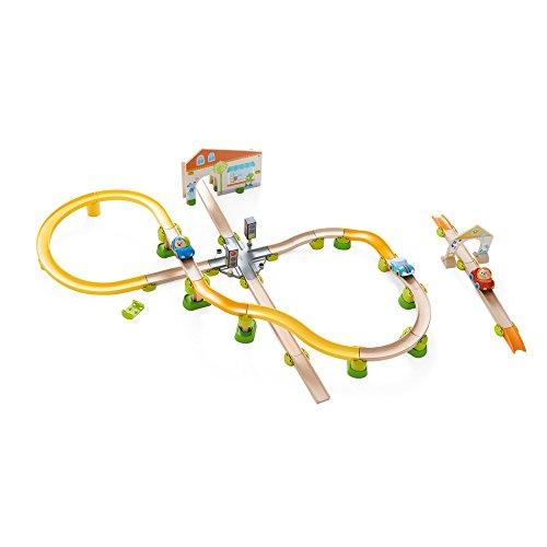 HABA 303082 Kullerbü – Spielbahn Stadtbummel, Kleinkindspielzeug - 2