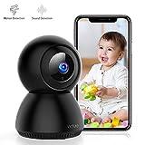 Victure 1080P FHD WLAN IP Kamera, Baby/Haustier/Zuhause Überwachungskamera mit Bewegungserkennung,...