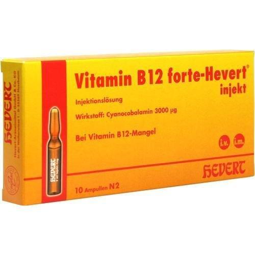 Vitamin B12 forte-Hevert, 10 St. Ampullen