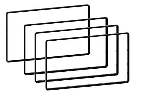 Distanz-Rahmen Set für Doppel-DIN Auto-Radios 3 x 5 mm | 1 x 2,5 mm