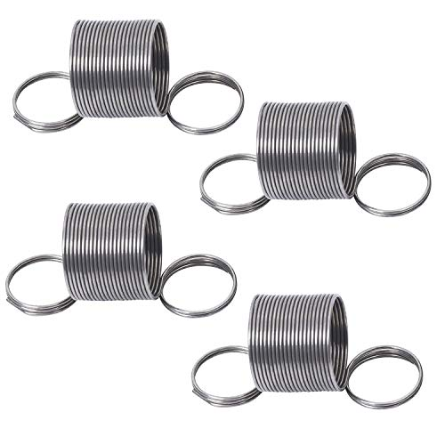 Pack of 4 4 Packs W10400895 Washer Suspension Tub Centering Spring Replacement for Kenmore Replace W10257087,W10257088,W10349191,AP5971398 PS11703290 W10780048 Washing Machine Suspension Rod Kit
