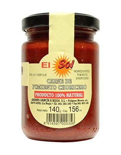 Carne De Pimiento Choricero  El Sol 140 G