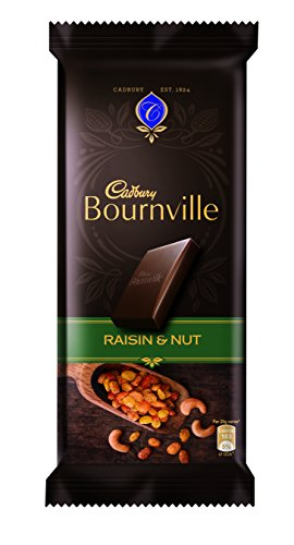 Cadbury Bournville Dark Chocolate Bar with Raisin and Nuts
