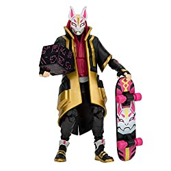 The Drift 6-inch action figure features interchangeable faces, 36+ points of articulation, and highly detailed decoration inspired by one of the most popular outfits from Epic Games' Fortnite. Drift is equipped with the Dual Edge harvesting tools, Ba...