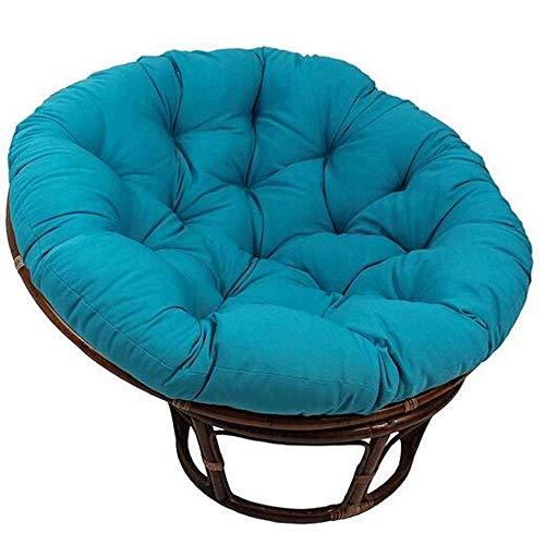 Lilui dik Papasan kussen, stoelkussen, rond, vloer, huis, oversized zitkussen, voor terras, buiten, binnen en tuin