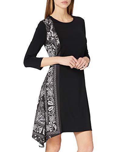 Desigual Damen Vest_los Angeles Casual Dress, Schwarz, M EU