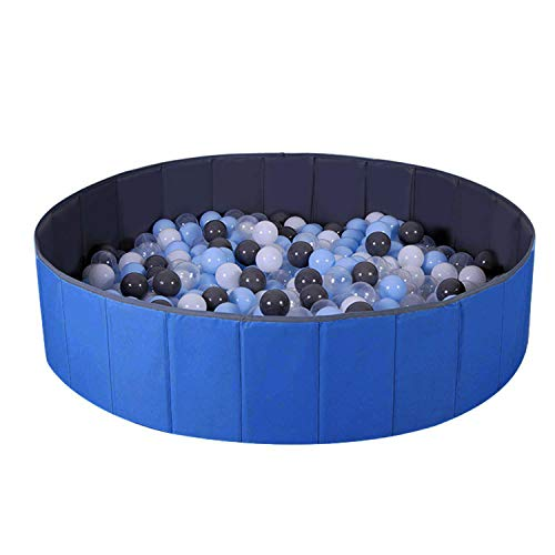 Ball Pit for Kids / Baby Play Yard / Baby Playpen / Fence for Baby, Folding Portable, No Need...