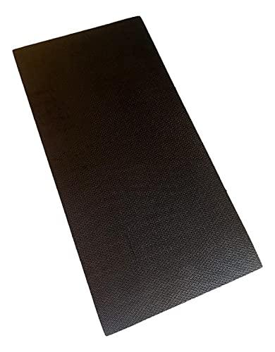 Colchonete Eva Tapete Yoga Exercícios 100cm x 50cm x 10mm Preto