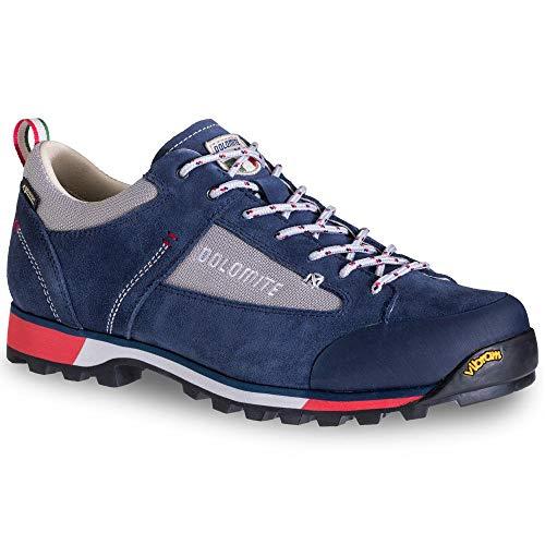 DOLOMITE Zapato MS Cinquantaquattro Hike Low GTX, Unisex Adulto, Blue/Red