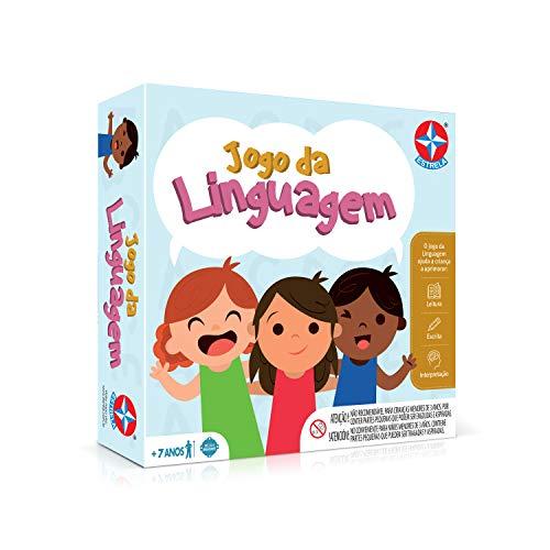 Jogo Da Linguagem Brinquedos Estrela Multicores