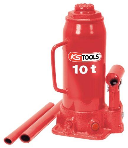 KS Tools 160.0354 Hydraulischer Flaschenwagenheber, 10 t