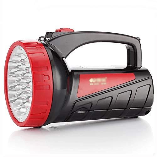 Zaklamp huishouden oplaadbare schittering super heldere buitenverlichting draagbare zoeklamp met tafellamp