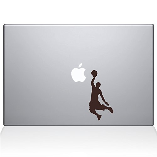 Adesivo de vinil The Decal Guru Slam Dunk MacBook – MacBook Pro de 15 polegadas (2016 e mais recente) – Marrom (1173-MAC-15X-BRO)