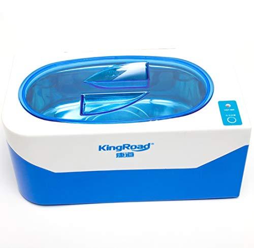 Preisvergleich Produktbild YN Ultraschall-Schmuckreiniger,  400ml Ultraschallbad-Maschine für Ohrring-Anhänger-Glas-Uhr-Rasiermess... bearbeitet Reinigungsmaschine