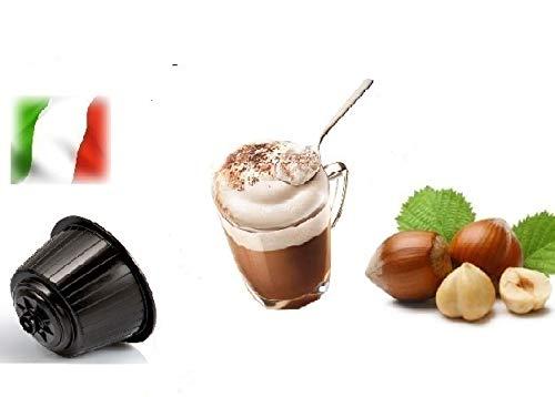 "Cápsulas compatibles con Nescafè Dolce Gusto®, 32 Cápsulas Mezcla ""Cappuccino alla Nocciola - Cappuccino Avellana"""