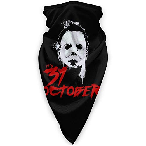 Michael Myers-Slay All Day Headwear Bandana Neck Gaiter Headwrao Balaclava Facemask Dust Wind Proof for Outdoor