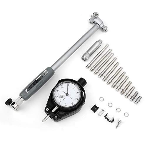 ROSEBEAR Reloj Comparador de Calibre 0 1 Mm Comparador de Precisión con Accesorios de Sonda Adecuado para Medir El Diámetro de La Pieza de Trabajo