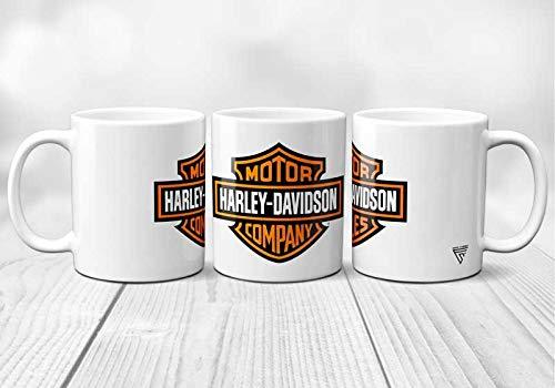 Tazza con logo Harley Davidson, originale e resistente