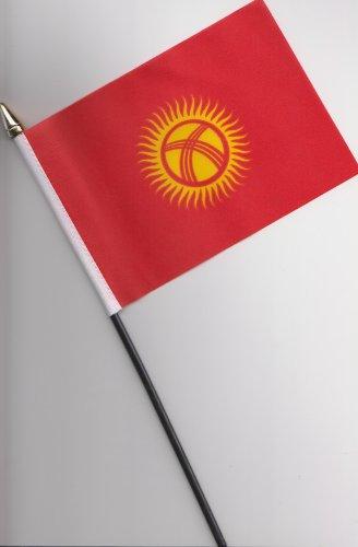 Kirgisistan Flagge, 25 cm