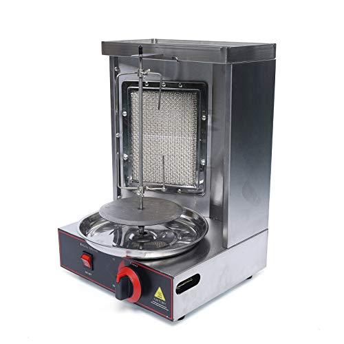 Asador vertical para máquina de Kebab pollo eléctrico. Máquina eléctrica eléctrica para horno de Kebab a gas para asar comercial, casa