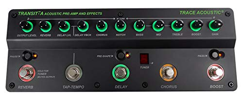 Trace Elliot Transit A Acoustic Guitar Preamp and Effects Pedal