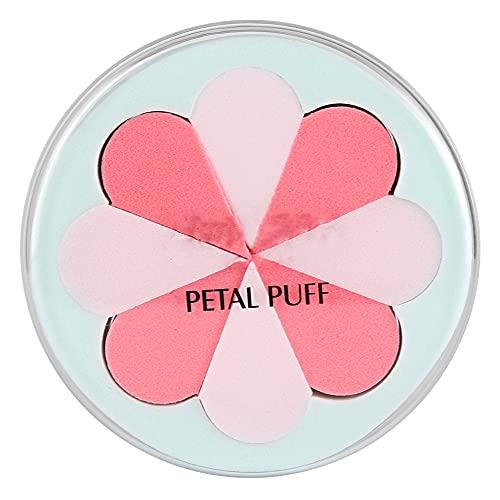 Accessoire cosmétique professionnel - Poudre de poudre mélangeur éponge fond de teint applicateur pour salon pour un usage quotidien (8 pétales)