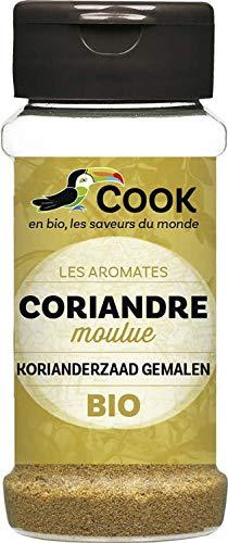 Cook Coriandre Moulue - BIO - 30 g - 1 Unite