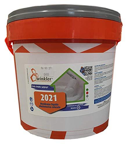 2021 Guaina liquida colorata impermeabilizzante (grigio) kg. 5