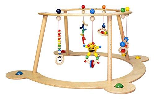 Hess 13333 - Juguete de madera (juguete y entrenador para caminar)