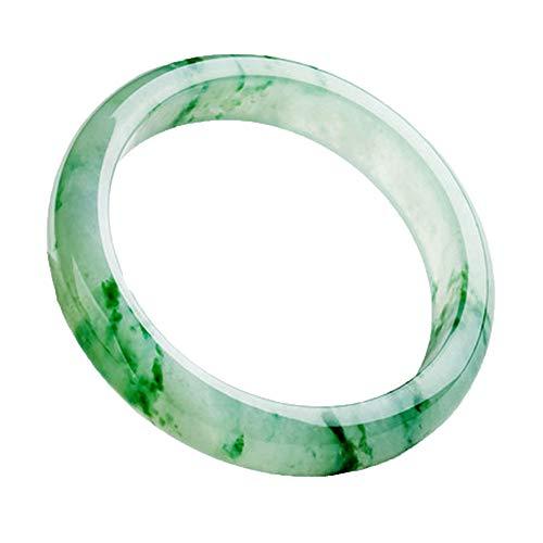 ZHIBO Natureis Jade Armband weibliche Modelle leuchten grün schwimmende Jade Armband Jade schmuck