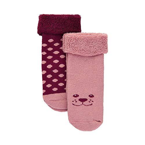 MINYMO Baby-Socken Doppelpack Rose 11/14