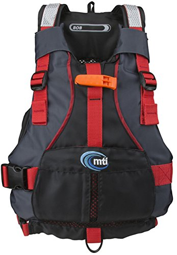 Buy MTI Adventurewear Youth Bob Life Jacket, Black/Red, 50-90 lb