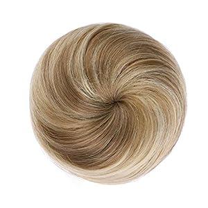 Onedor Synthetic Fiber Hair Extension Chignon Donut Bun Wig Hairpiece (18H22)