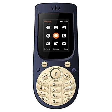 IKALL K18 1.8 Inches Mobile (Dark Blue)
