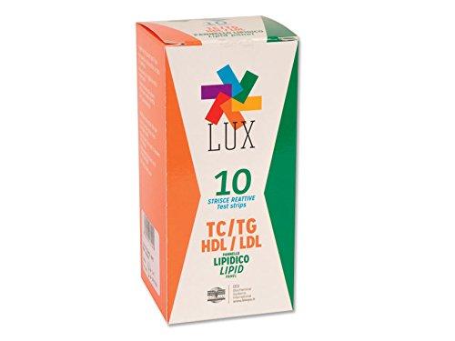 LUX monitor Lipid Profile Strips en Pipette, doos van 10 strips