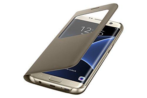 Samsung Galaxy S7 Edge Protective SView Custodia, Oro