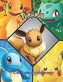 pokémon libro para colorear: +50 imágenes de alta calidad más recientes de adultos y niños enemigos ricos