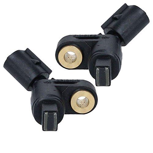 ECD Germany RS001 + RS002 ABS Sensor Raddrehzahl Raddrehzahlsensor Drehzahlfühler vorne links und rechts