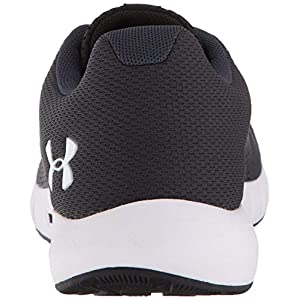 UNDER ARMOUR womens Micro G Pursuit Running Shoe, Anthracite (100)/Black, 9